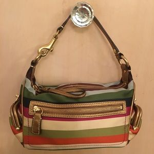 Coach limited edition satin bag